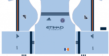 Dream League Soccer DLS 512×512 New York City Home Kits