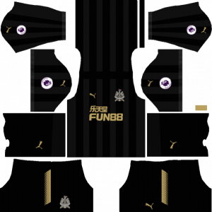 Dream League Soccer DLS 512×512 Newcastle United FC Third Kits