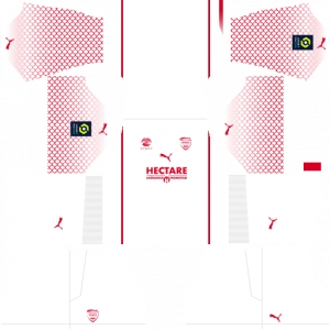 Dream League Soccer DLS 512×512 Nimes Olympique Away Kits