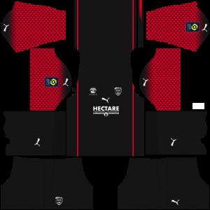 Dream League Soccer DLS 512×512 Nimes Olympique Third Kits
