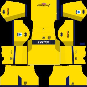 Dream League Soccer DLS 512×512 Parma Calcio Away Kits