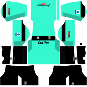 Dream League Soccer DLS 512×512 Parma Calcio GoalKeeper Away Kits