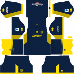Dream League Soccer DLS 512×512 Parma Calcio GoalKeeper Home Kits