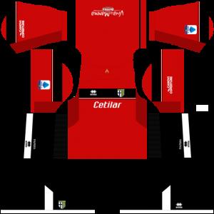 Dream League Soccer DLS 512×512 Parma Calcio GoalKeeper Third Kits