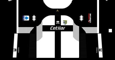 Dream League Soccer DLS 512×512 Parma Calcio Home Kits