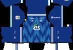 Dream League Soccer DLS 512×512 RC Strasbourg Alsace Home Kits