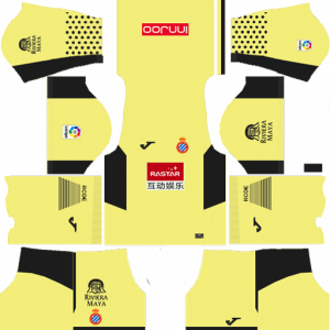 Dream League Soccer DLS 512×512 RCD Espanyol GoalKeeper Third Kits