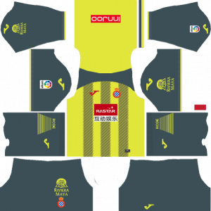 Dream League Soccer DLS 512×512 RCD Espanyol Third Kit