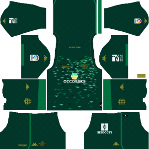 Dream League Soccer DLS 512×512 Real Betis Away Kits
