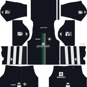 Dream League Soccer DLS 512×512 Real Betis GoalKeeper Away Kits