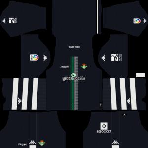 Dream League Soccer DLS 512×512 Real Betis GoalKeeper Away Kits