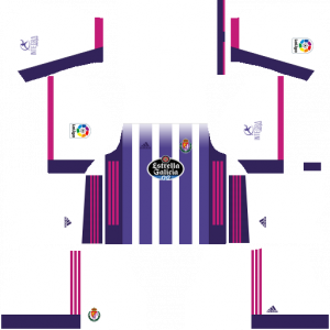 Dream League Soccer DLS 512×512 Real Valladolid Home Kits