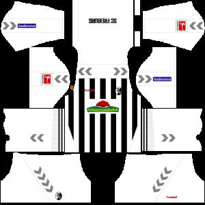 Dream League Soccer DLS 512×512 SC Freiburg Away Kits