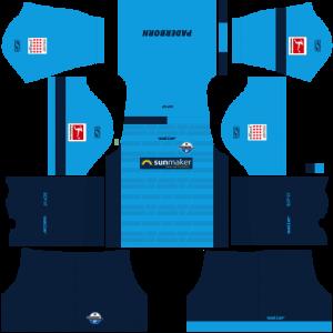 Dream League Soccer DLS 512×512 SC Paderborn 07 GoalKeeper Home Kits