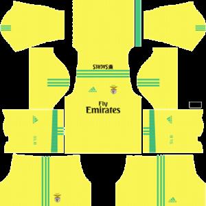 Dream League Soccer DLS 512×512 SL Benfica GoalKeeper Away Kits