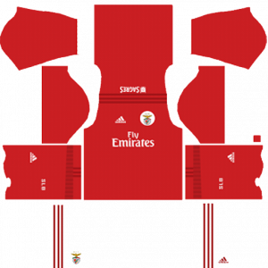 Dream League Soccer DLS 512×512 SL Benfica Home Kits
