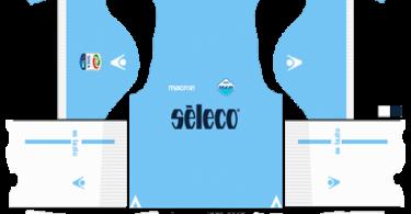 Dream League Soccer DLS 512×512 SS Lazio Home Kits