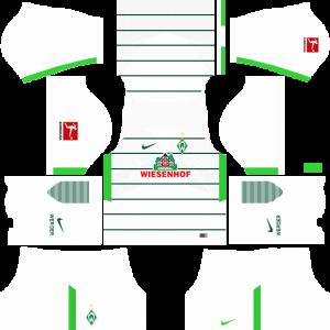 Dream League Soccer DLS 512×512 SV Werder Bremen Away Kits