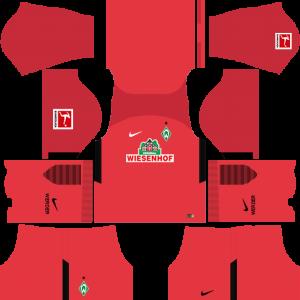 Dream League Soccer DLS 512×512 SV Werder Bremen GoalKeeper Away Kits