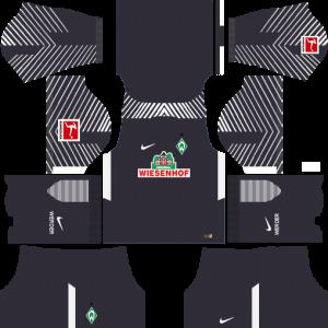 Dream League Soccer DLS 512×512 SV Werder Bremen GoalKeeper Third Kits