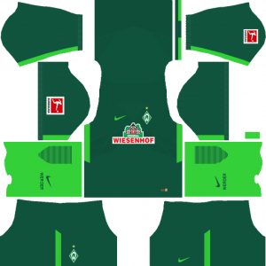 Dream League Soccer DLS 512×512 SV Werder Bremen Home Kits