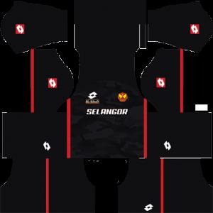 Dream League Soccer DLS 512×512 Selangor FA Third Kits
