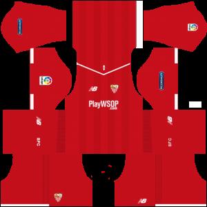 Dream League Soccer DLS 512×512 Sevilla FC Away Kits