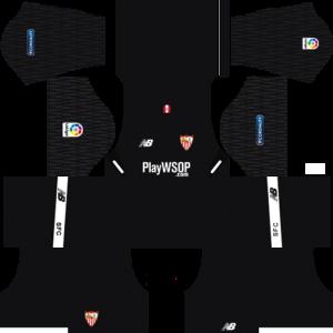 Dream League Soccer DLS 512×512 Sevilla FC GoalKeeper Away Kits