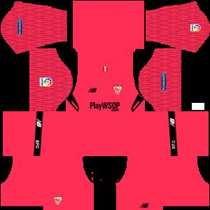 Dream League Soccer DLS 512×512 Sevilla FC GoalKeeper Home Kits