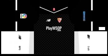 Dream League Soccer DLS 512×512 Sevilla FC Third Kits