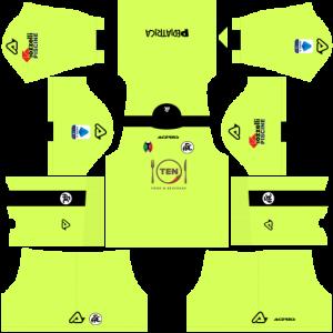 Dream League Soccer DLS 512×512 Spezia Calcio GoalKeeper Away Kits