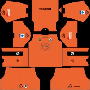 Dream League Soccer DLS 512×512 Spezia Calcio GoalKeeper Home Kits