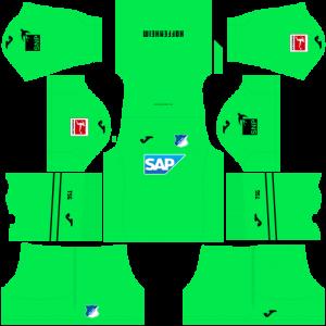 Dream League Soccer DLS 512×512 TSG Hoffenheim GoalKeeper Away Kits