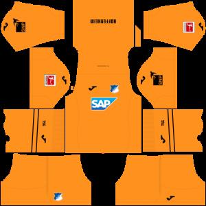 Dream League Soccer DLS 512×512 TSG Hoffenheim GoalKeeper Home Kits