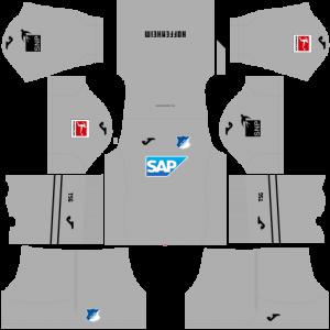 Dream League Soccer DLS 512×512 TSG Hoffenheim GoalKeeper Third Kits