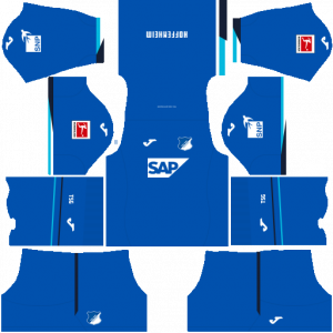 Dream League Soccer DLS 512×512 TSG Hoffenheim Home Kits