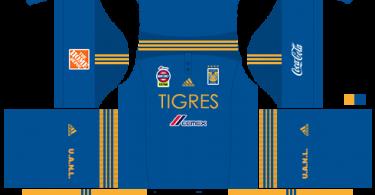 Dream League Soccer DLS 512×512 Tigres UANL Away Kits