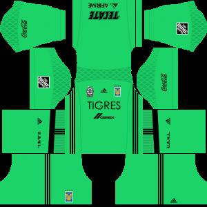 Dream League Soccer DLS 512×512 Tigres UANL GoalKeeper Away Kits