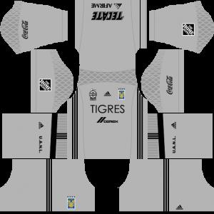Dream League Soccer DLS 512×512 Tigres UANL GoalKeeper Home Kits