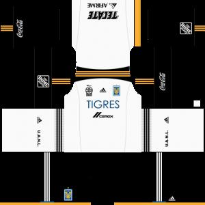 Dream League Soccer DLS 512×512 Tigres UANL Third Kits
