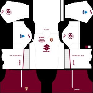 Dream League Soccer DLS 512×512 Torino FC Away Kits