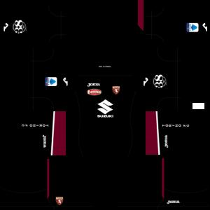 Dream League Soccer DLS 512×512 Torino FC GoalKeeper Away Kits