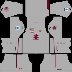 Dream League Soccer DLS 512×512 Torino FC GoalKeeper Third Kits