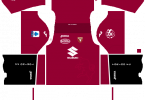 Dream League Soccer DLS 512×512 Torino FC Home Kits