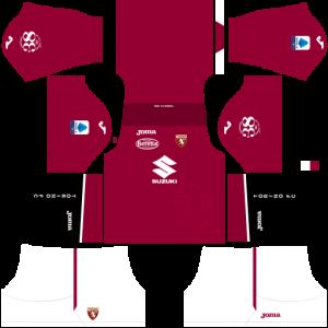 Dream League Soccer DLS 512×512 Torino FC Home Kits