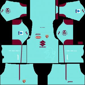 Dream League Soccer DLS 512×512 Torino FC Third Kits