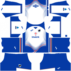 Dream League Soccer DLS 512×512 UC Sampdoria Away Kits