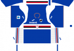 Dream League Soccer DLS 512×512 UC Sampdoria Home Kits