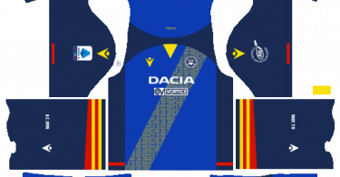 Dream League Soccer DLS 512×512 Udinese Calcio Away Kits