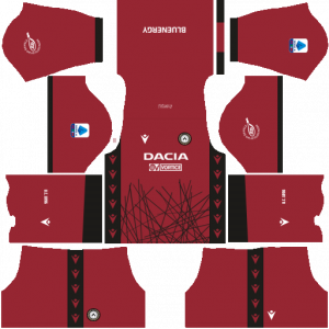 Dream League Soccer DLS 512×512 Udinese Calcio GoalKeeper Away Kits
